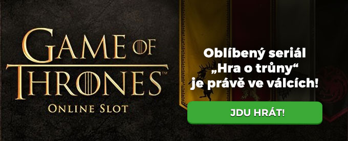 Game of Thrones nový online slot