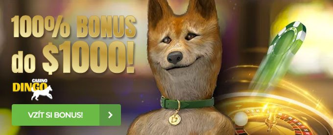 100% bonus do $1000 - online casino Dingo
